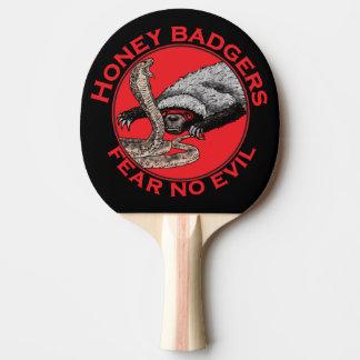 Ne craignez aucune conception rouge animale drôle raquette tennis de table
