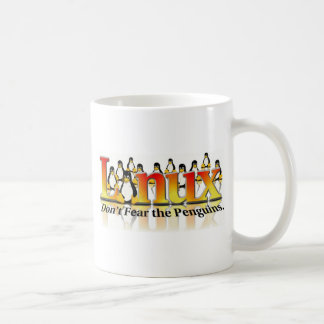Ne craignez pas le pingouin mug blanc