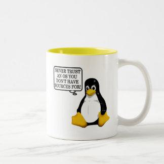Ne faites jamais confiance qu un OS vous n ont pas Mug