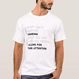 Ne gaspillez pas la chemise de vos hommes de la t-shirt