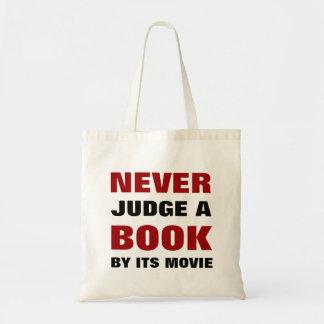 Ne jugez jamais un livre par son film | pour des sac