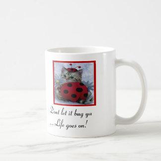 ne le laissez pas brancher la vie sur table mug