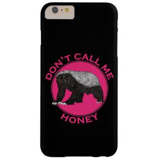 Ne m'appelez pas art de féministe de rose de coque iPhone 6 plus barely there