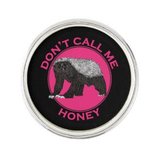 Ne m'appelez pas art de féministe de rose de pin's
