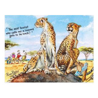 Ne m'appelez pas léopard ! cartes postales