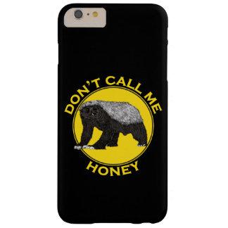 Ne m'appelez pas miel, slogan de féministe de coque barely there iPhone 6 plus