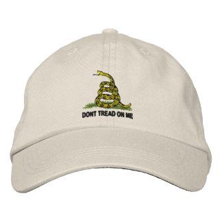 Ne marchez pas sur moi casquette brodée