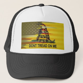 Ne marchez pas sur moi le casquette de camionneur