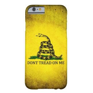 Ne marchez pas sur moi le drapeau de Gadsden - Coque iPhone 6 Barely There