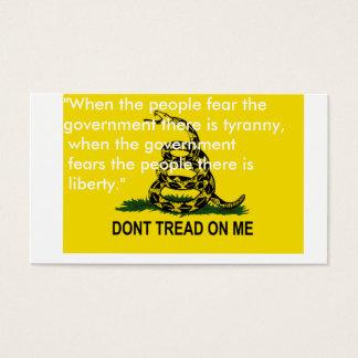 Ne marchez pas sur moi les cartes de drapeau