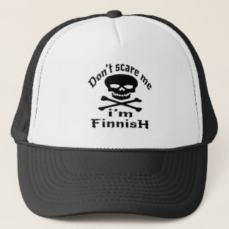 Ne m'effrayez pas que je suis finlandais casquette