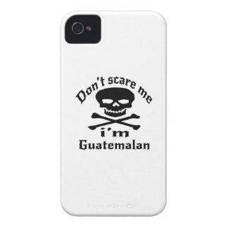 Ne m'effrayez pas que je suis guatémaltèque coques iPhone 4 Case-Mate