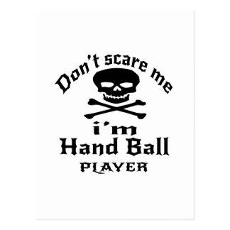 Ne m'effrayez pas que je suis joueur de boule de carte postale