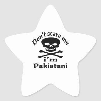 Ne m'effrayez pas que je suis pakistanais sticker étoile