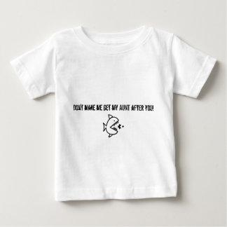 Ne m'incitez pas à obtenir ma tante après que vous t-shirts