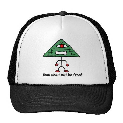 Ne pas être chapeau libre casquette de camionneur