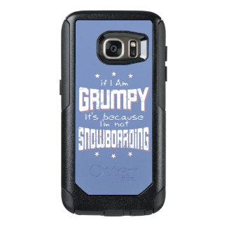 NE PAS FAIRE DU SURF DES NEIGES GRINCHEUX (blanc) Coque OtterBox Samsung Galaxy S7