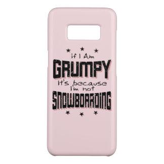 NE PAS FAIRE DU SURF DES NEIGES GRINCHEUX (noir) Coque Case-Mate Samsung Galaxy S8