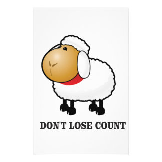 ne perdez pas les moutons de compte papeterie