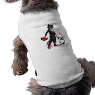 Ne peut pas apprivoiser cette dame (la couleur) t-shirt pour chien