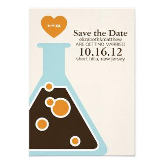 Ne peut pas combattre des économies de mariage de carton d'invitation  12,7 cm x 17,78 cm