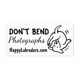 Ne pliez pas le tampon en caoutchouc de Labrador