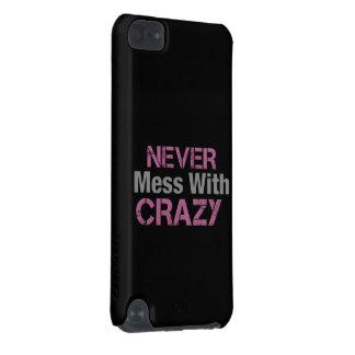 Ne salissez jamais avec le solide fou coque iPod touch 5G