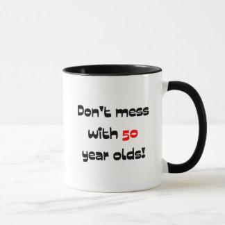 Ne salissez pas avec 50 ans tasse
