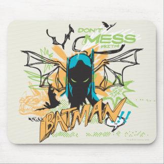 Ne salissez pas avec Batman - collage de carnet Tapis De Souris