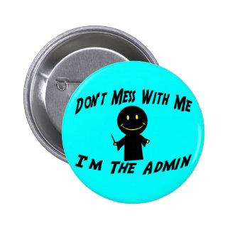 Ne salissez pas avec l'Admin Badges