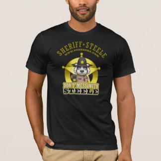 Ne salissez pas avec le T-shirt de Steele