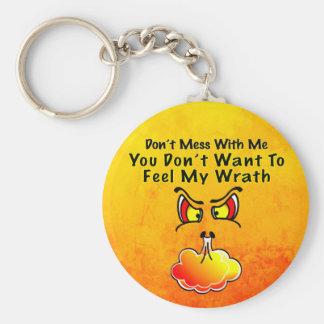 Ne salissez pas avec moi le porte - clé porte-clés