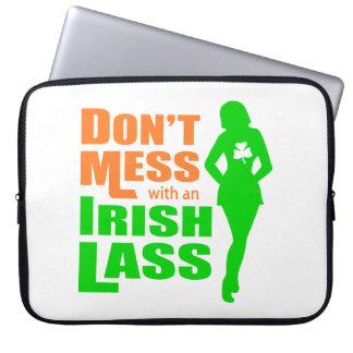 Ne salissez pas avec une jeune fille irlandaise -