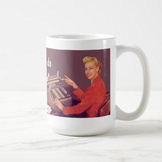 ne savez pas ce que je fais pour vivre, le déteste tasse à café