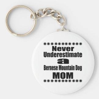 Ne sous-estimez jamais la maman de chien de porte-clé rond