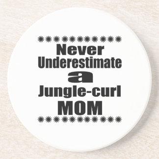 Ne sous-estimez jamais la maman de Jungle-boucle Dessous De Verre En Grès