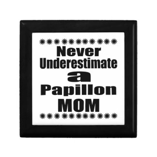 Ne sous-estimez jamais la maman de Papillon Boîte À Souvenirs
