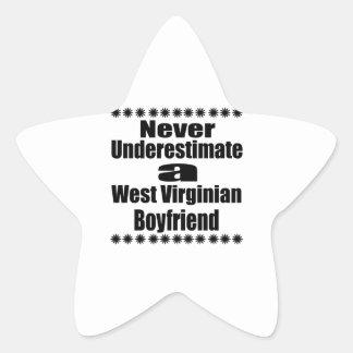 Ne sous-estimez jamais l'ami de Virginian Sticker Étoile