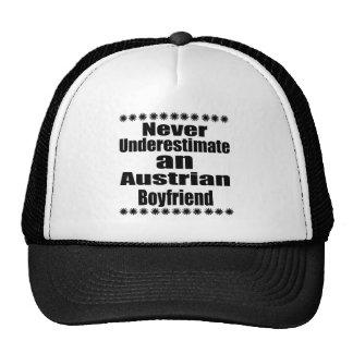 Ne sous-estimez jamais un ami autrichien casquette trucker