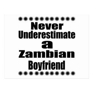 Ne sous-estimez jamais un ami zambien carte postale