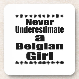 Ne sous-estimez jamais une amie belge sous-bock