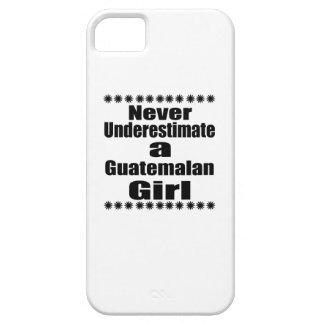 Ne sous-estimez jamais une amie guatémaltèque étuis iPhone 5
