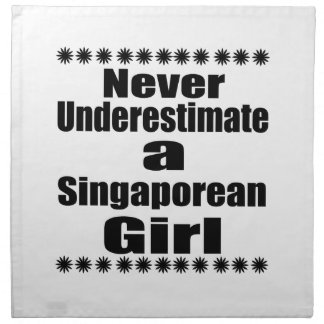 Ne sous-estimez jamais une amie singapourienne serviettes