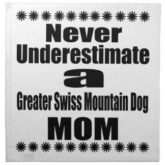 Ne sous-estimez jamais une plus grande maman serviettes imprimées