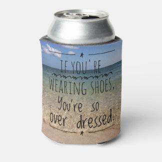 Ne soyez pas habillé avec ostentation rafraichisseur de cannettes