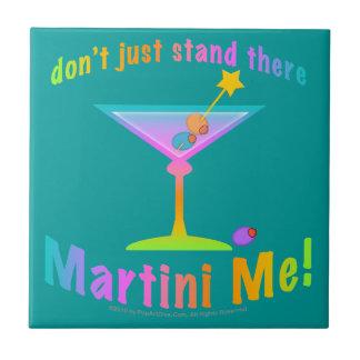 Ne tenez pas simplement là - MARTINI JE tuile de c Petit Carreau Carré