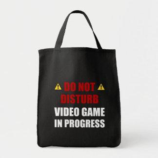 Ne touchez pas au jeu vidéo tote bag