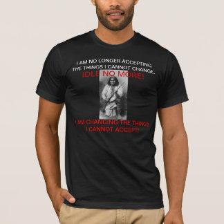 NE TOURNEZ AU RALENTI PLUS de T-shirt noir !