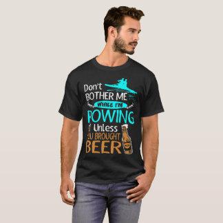 Ne tracassez pas tout en ramant à moins que t-shirt