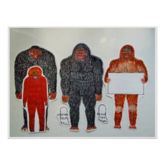 Neanderthal et 3 amis, poster